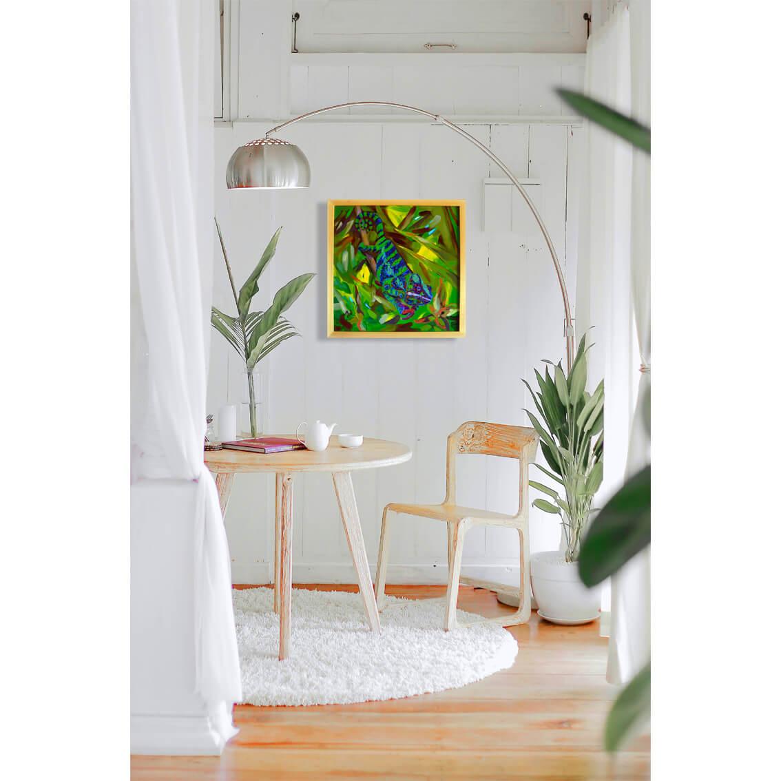 Camaleonte in arte