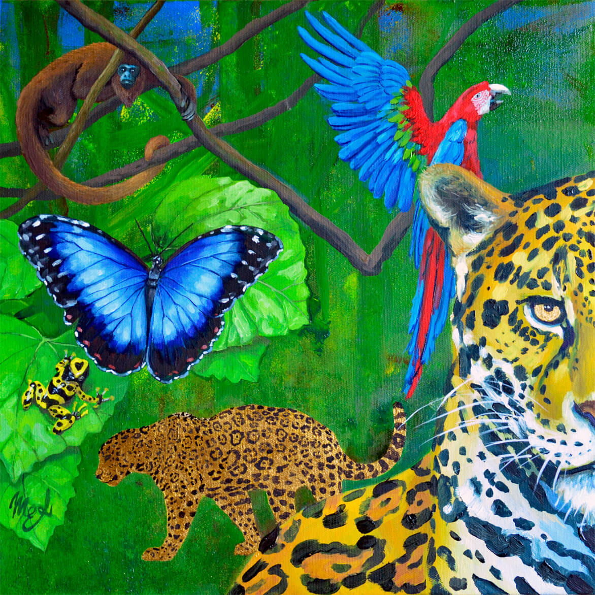 Amazzonia in art