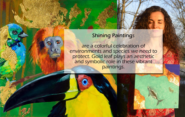 Shining Paintings