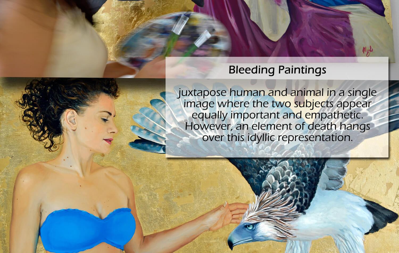 Bleeding Paintings