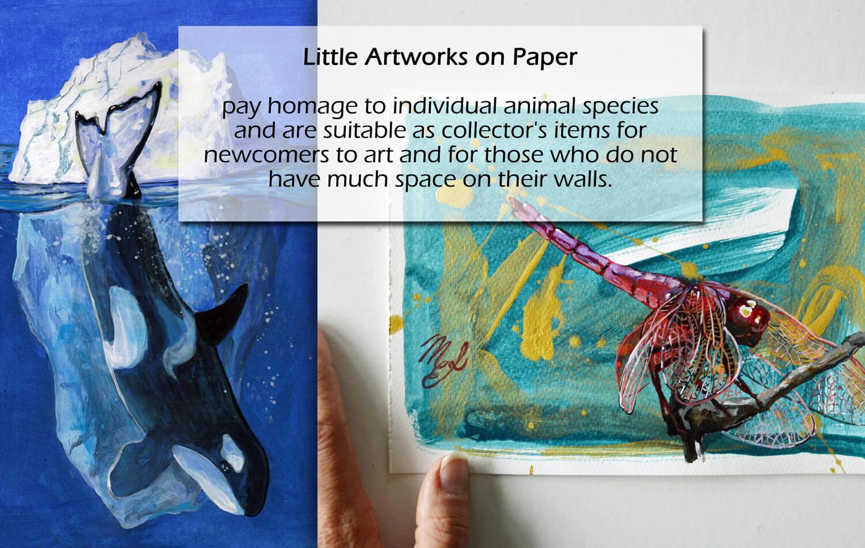 Little Artworks on Paper
